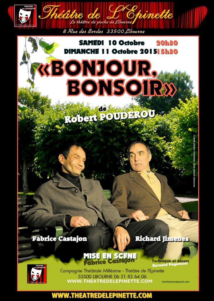 BONJOUR BONSOIR 10 OCT 2015.
