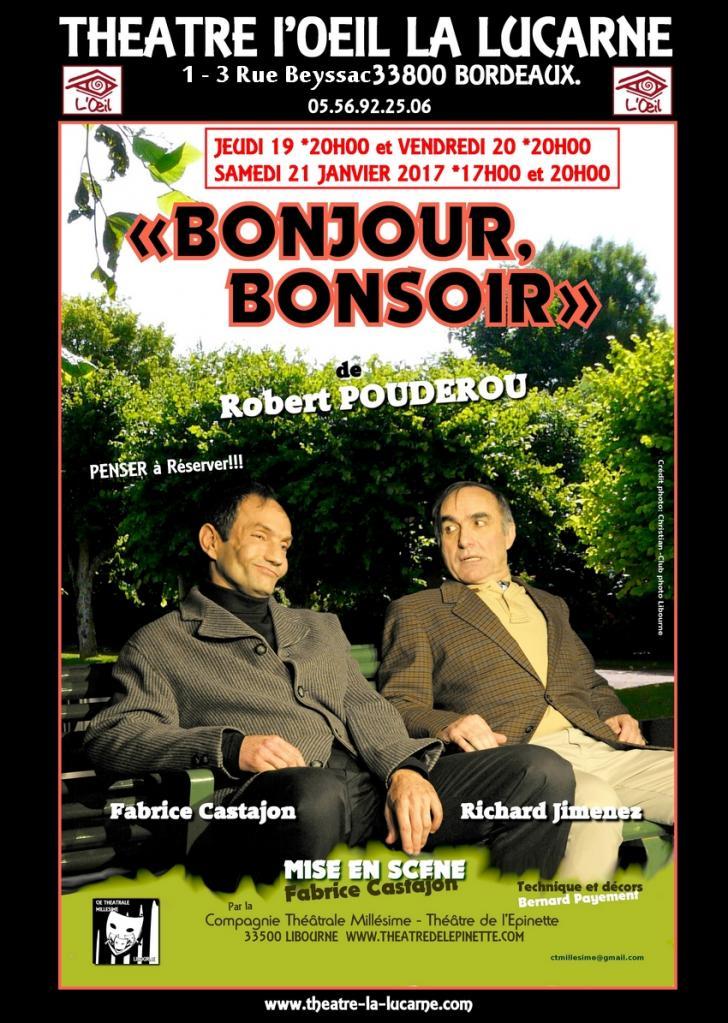 BONJOUR BONSOIR àla lucarne Bordeaux 19 20 21 janv 2017 web