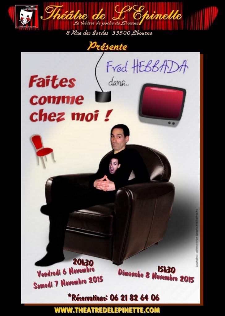 FRED HEBBADA-Faites comme chez moi