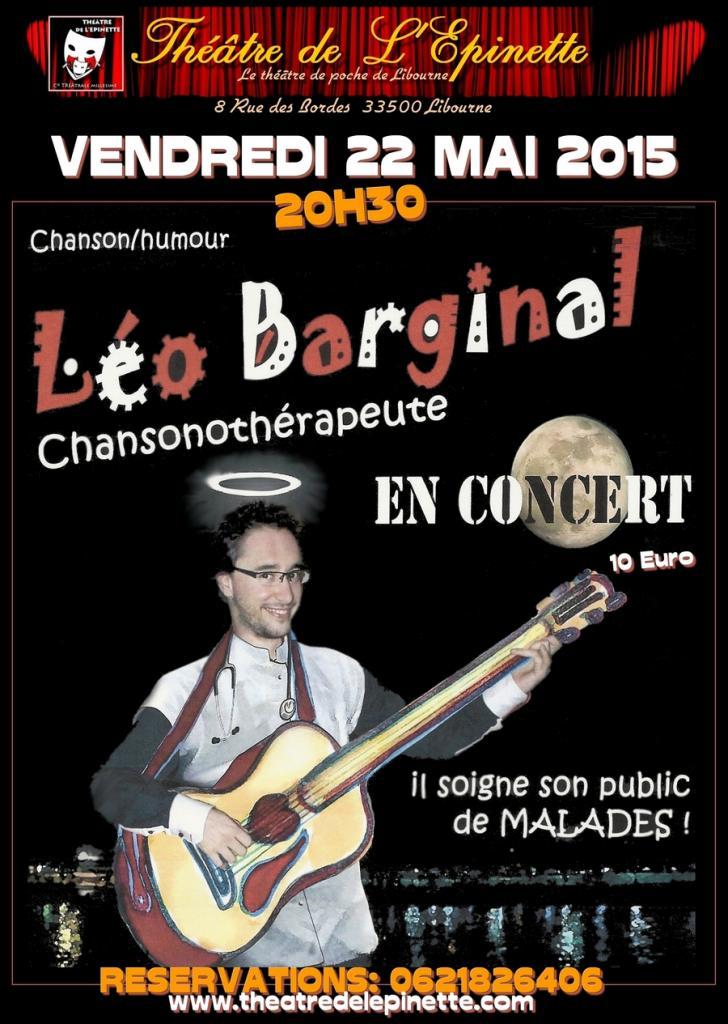 LEO BARGINAL 22 MAI 2015 theatre Epinette