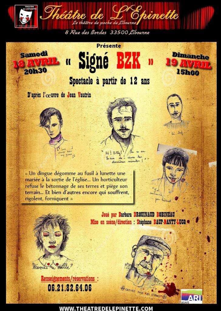 Signé BZK par barbara DROUINEAU BOBINEAU