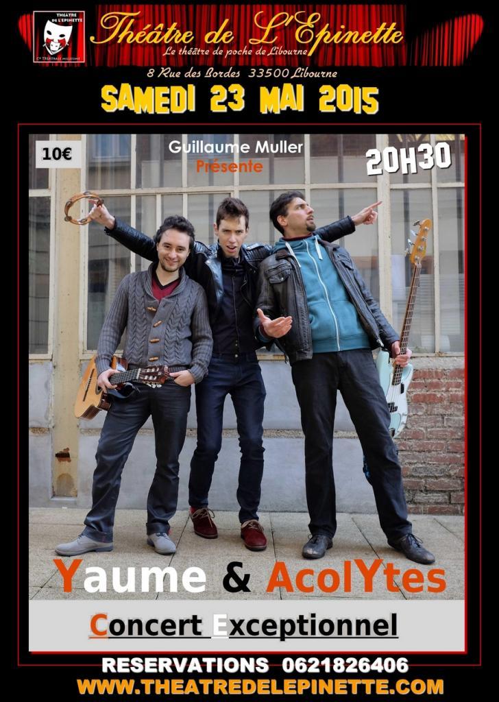 YAUME et ACOLYTES THEATRE DE L'EPINETTE