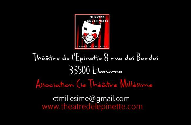 Théâtre de l'épinette _ bienvenue