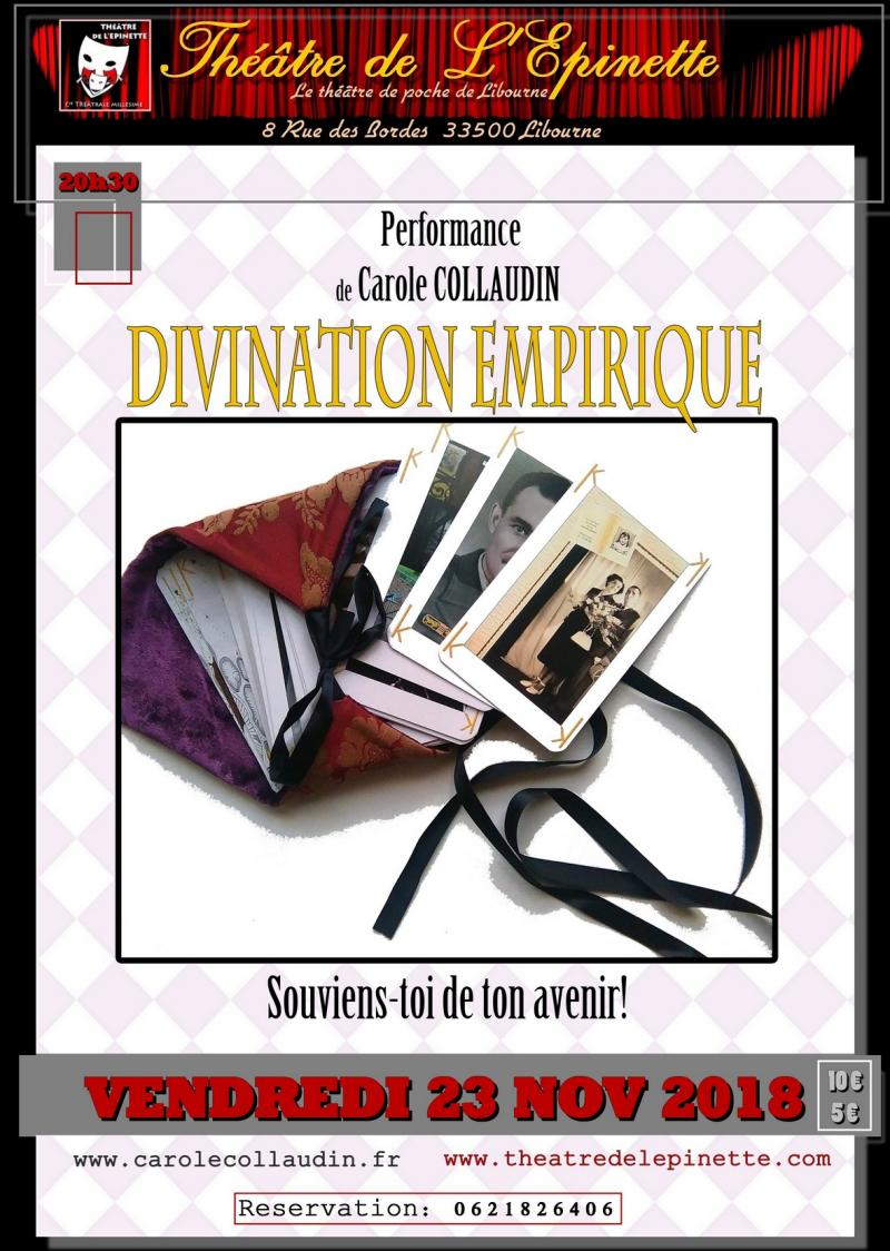 Divination empirique  de Carole Collaudin