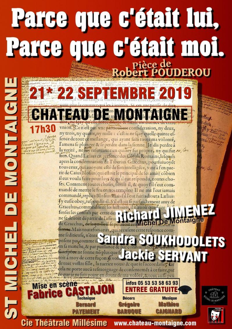 Montaigne au chateau 21 22 sept 2019