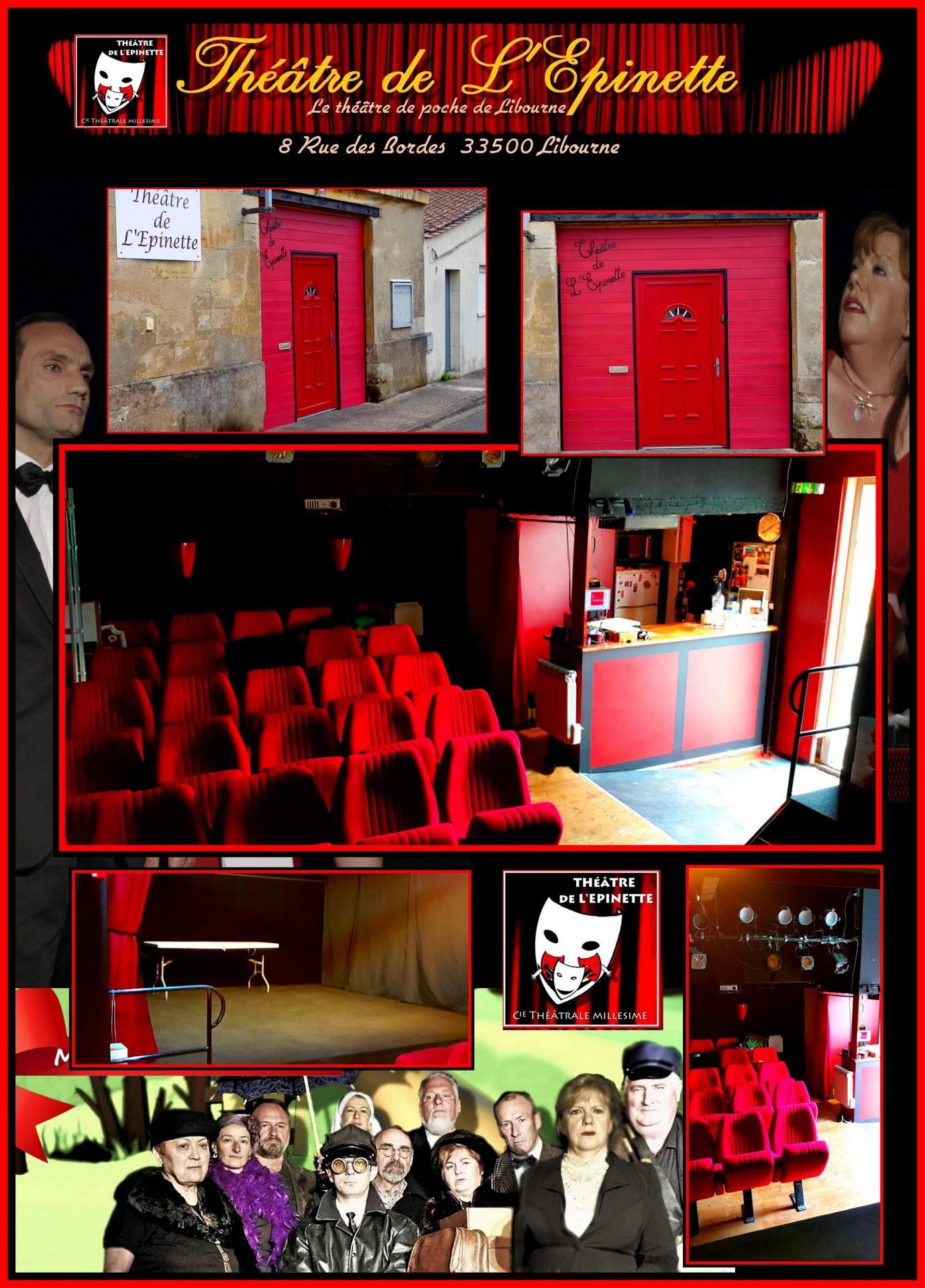 Theatre de l epinette theatre de poche de libourne