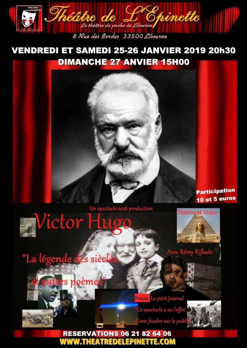 Victor hugo 25 26 27 janv 2019