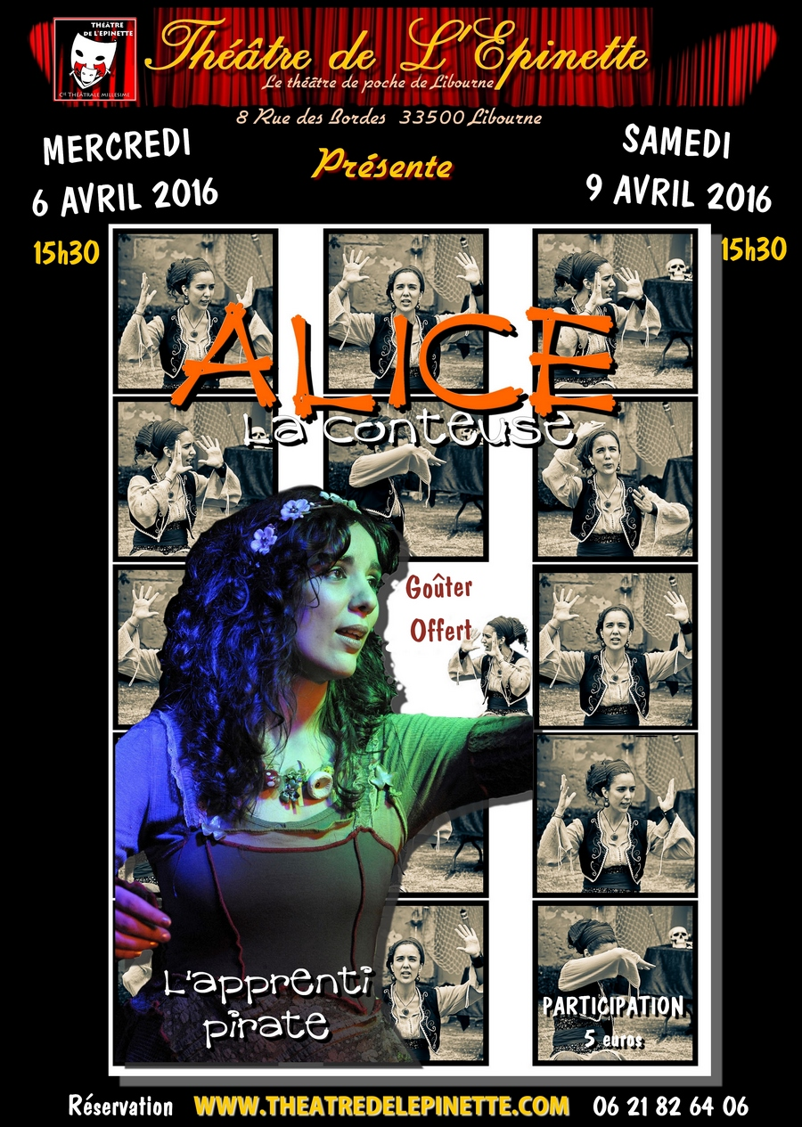 Alice la conteuse l apprenti pirate